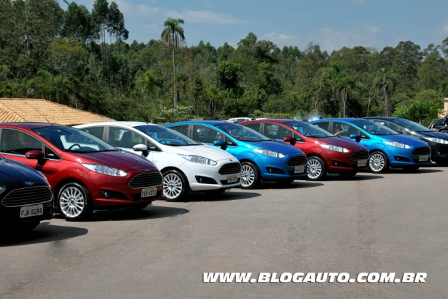 Conhe 231 A Todas As Cores Do Ford New Fiesta 2014 Blogauto