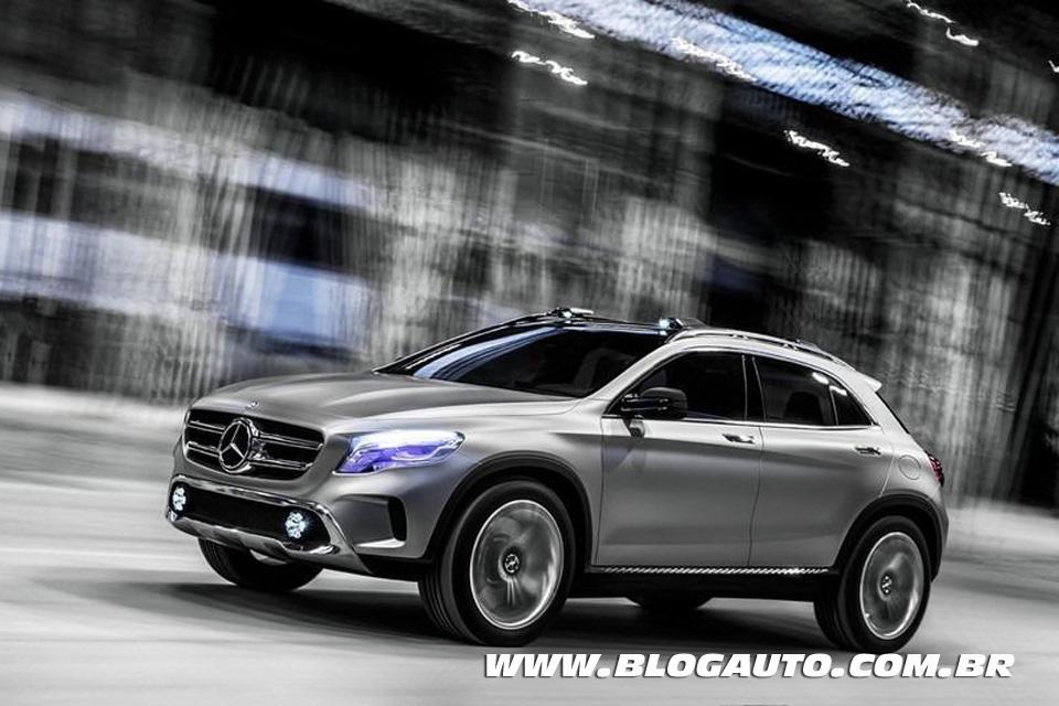Mercedes-Benz GLA, modelo poderá ser brasileiro