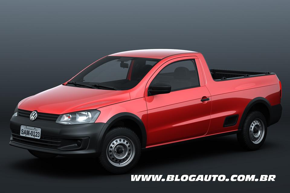 Volkswagen Saveiro Cabine Simples 2014