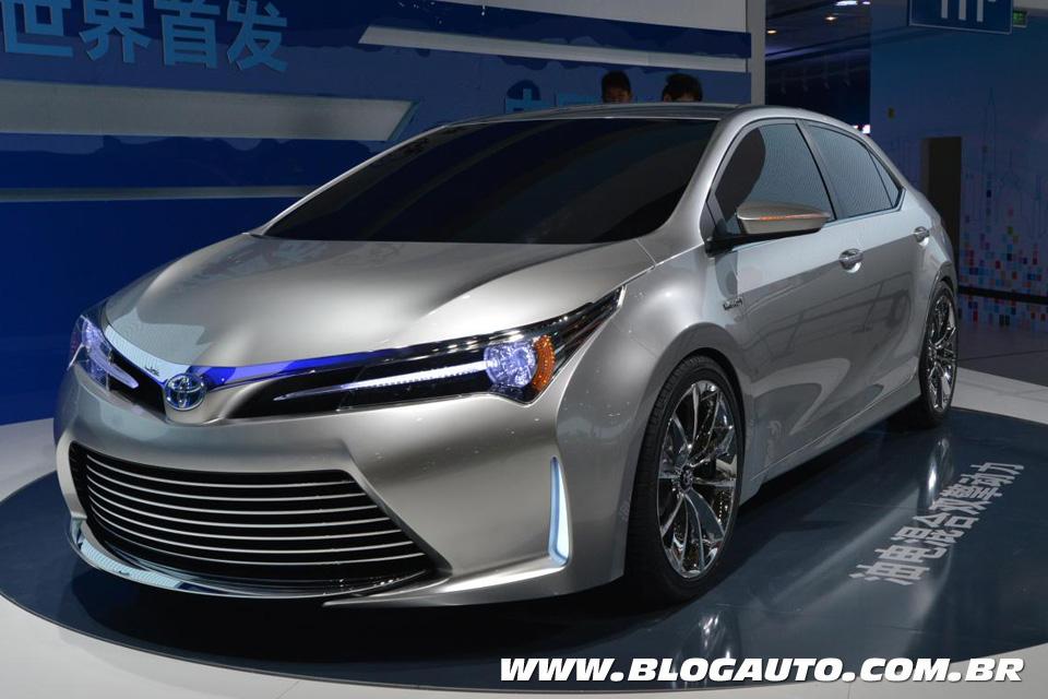 Novo Toyota Corolla 2015 aparece no Salão de Xangai