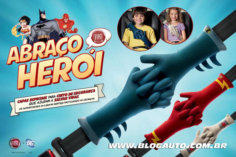 Fiat lança a campanha Abraço Herói