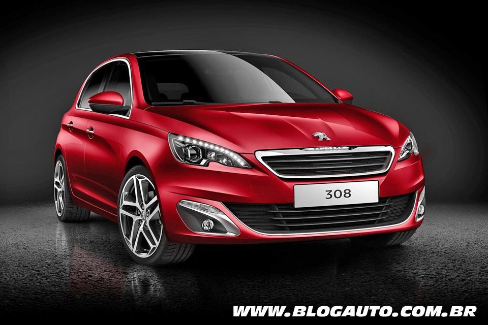Peugeot mostra a nova geração do hatch 308