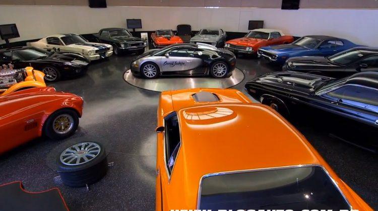 Garagem de Craig Jackson