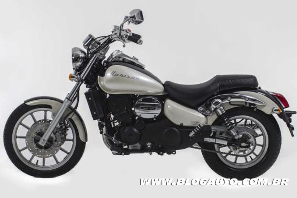 Dafra Horizon 250 2014 uma nova custom na área