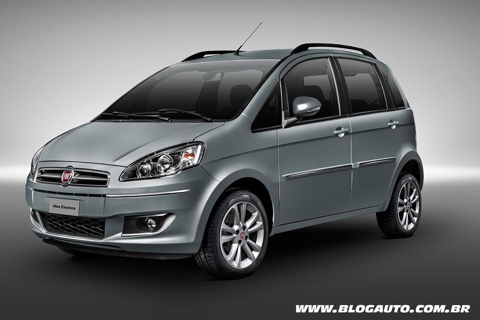 Fiat Idea 2014 chega às lojas sem muitas novidades