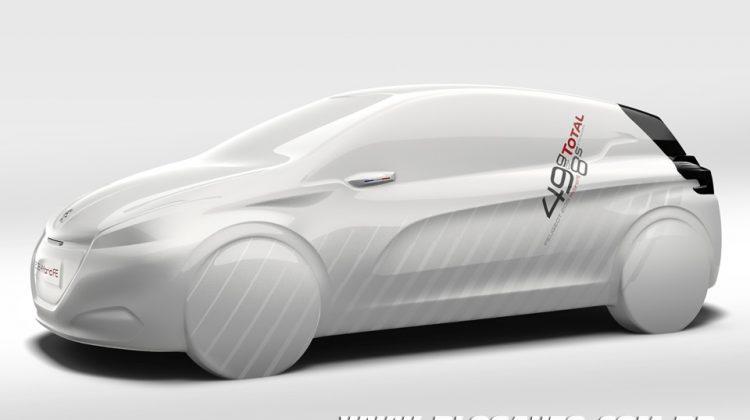 Peugeot 208 HYmotion FE