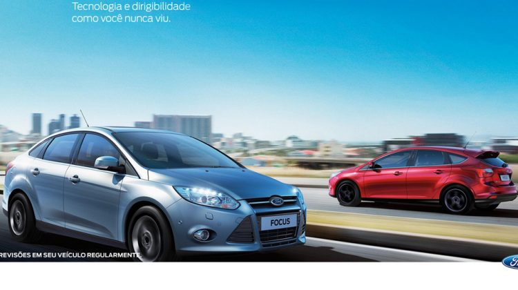 Site do novo Ford Focus na internet