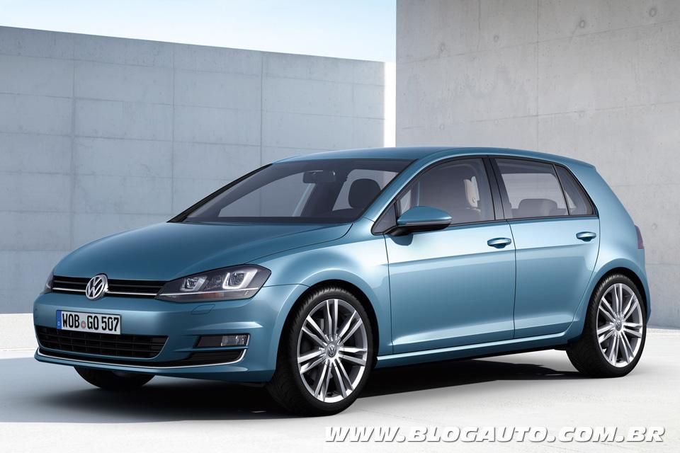 Novo Volkswagen Golf 2014 deve custar menos de R$ 70 mil