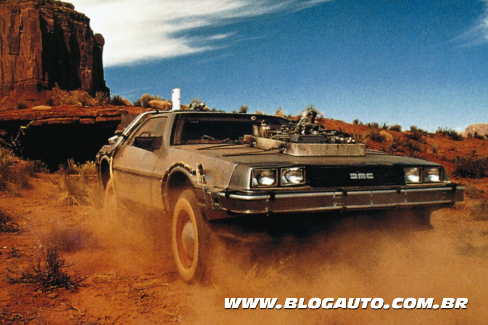 De Lorean - Back To The Future - De Volta Pro Futuro