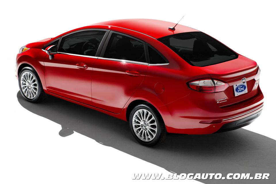 Ford New Fiesta Sedan 2014 continua vindo do México - BlogAuto