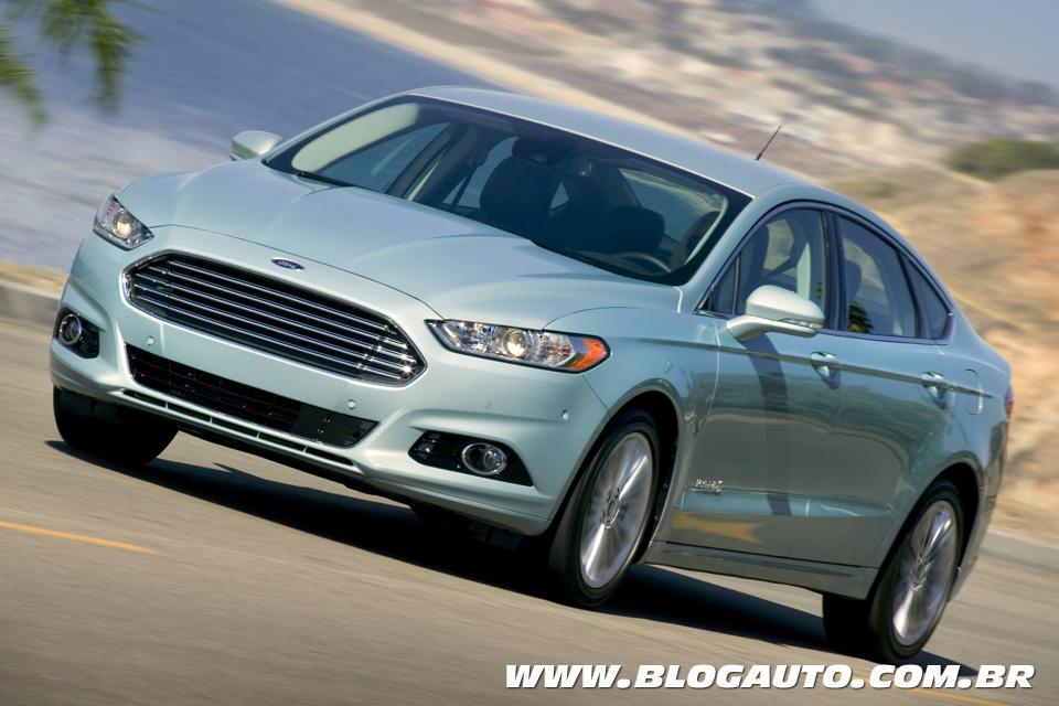 Novo Ford Fusion Hybrid será lançado em agosto