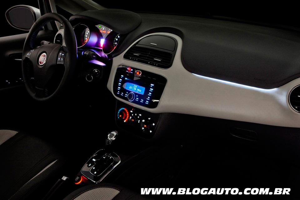 Interior Fiat Punto 2014 Essence