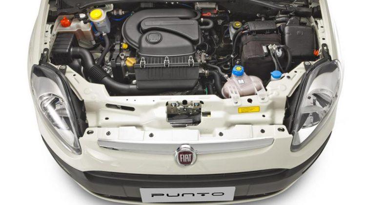 Motor 1.4l do Fiat Punto 2014 Attractive