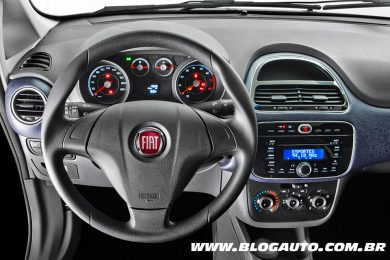 Painel Fiat Punto 2014 Attractive