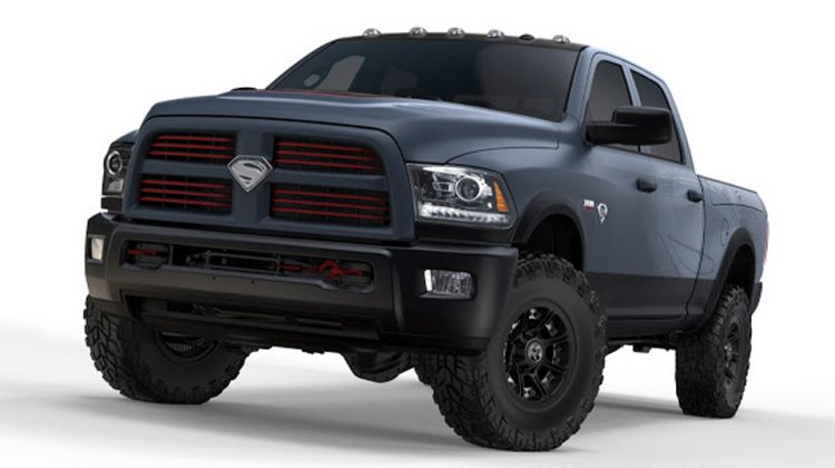 RAM 1500 Power Wagon Superman
