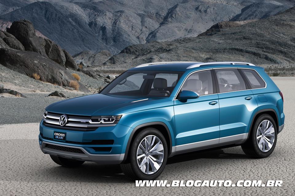 Volkswagen CrossBlue Concept deve ser o novo SUV da marca
