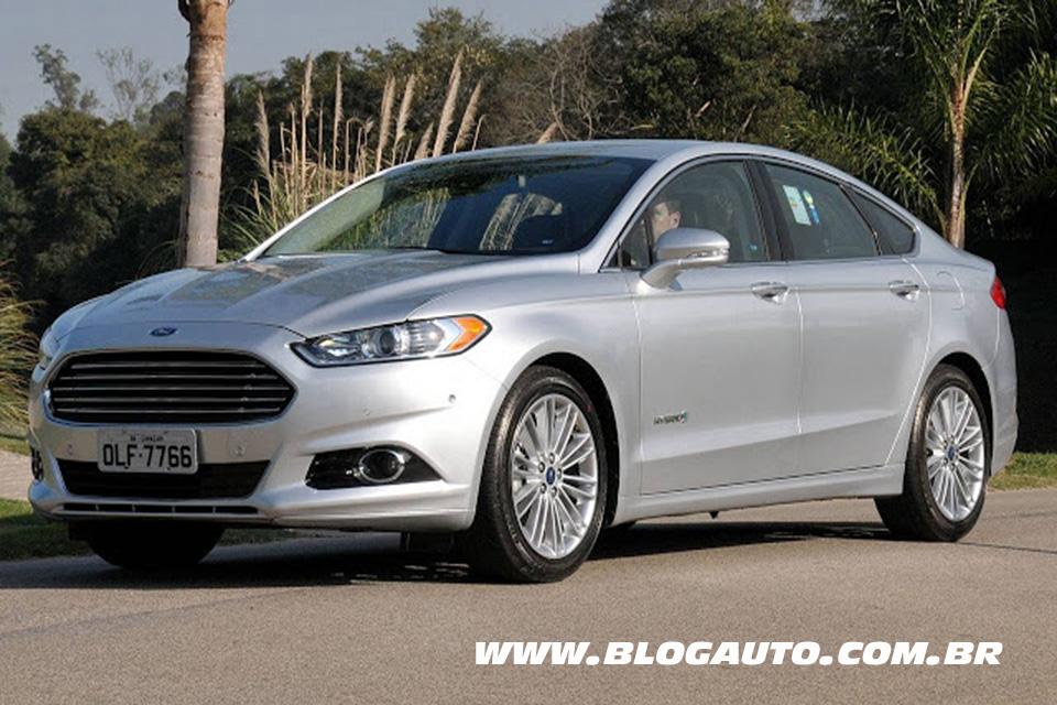 Ford Fusion Hybrid 2014 chega com preço mais barato