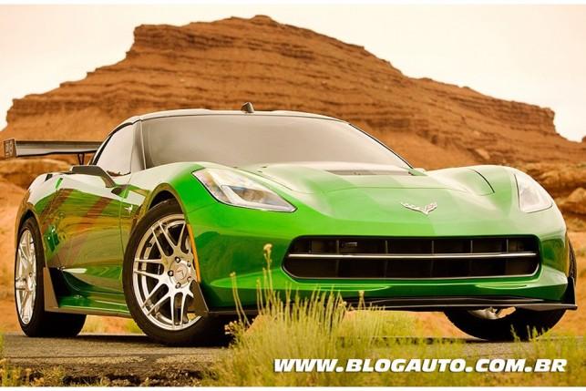 Transformers 4 Slingshot Corvette Stingray