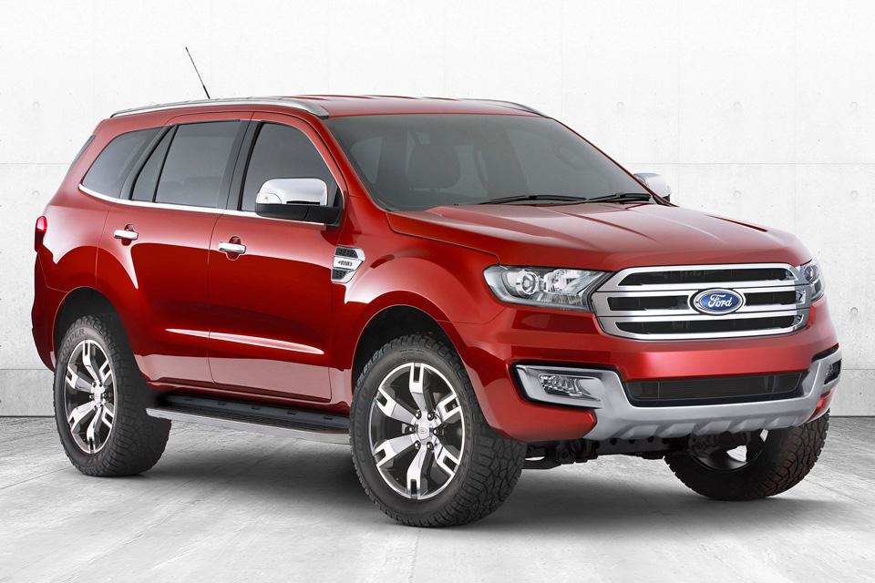 Conheça o Everest, SUV da Ford Ranger