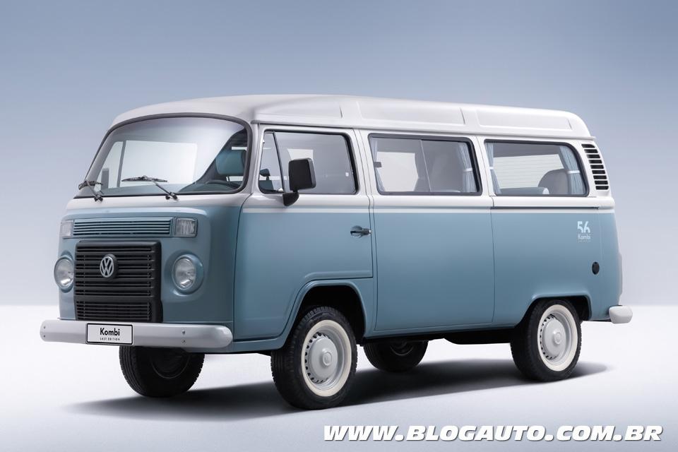 Volkswagen lança a Kombi Last Edition e fim da produção