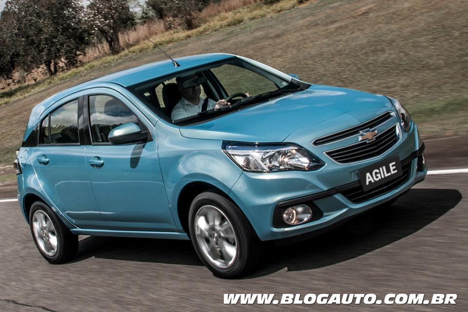 Chevrolet Agile deixa de ser fabricado na Argentina