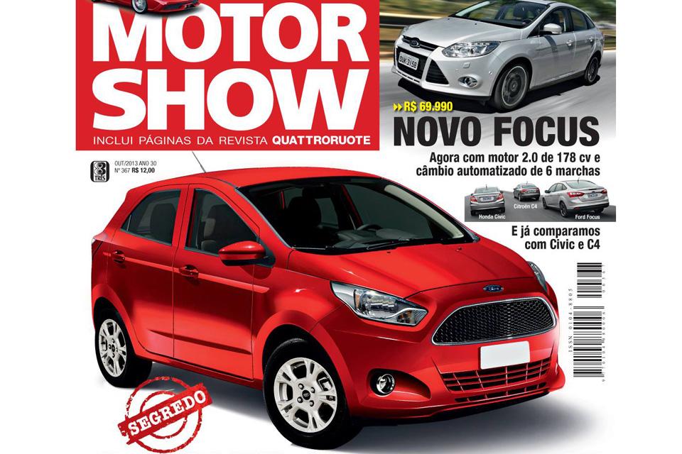 MotorShow como o BlogAuto confirma a volta do Ford Escort