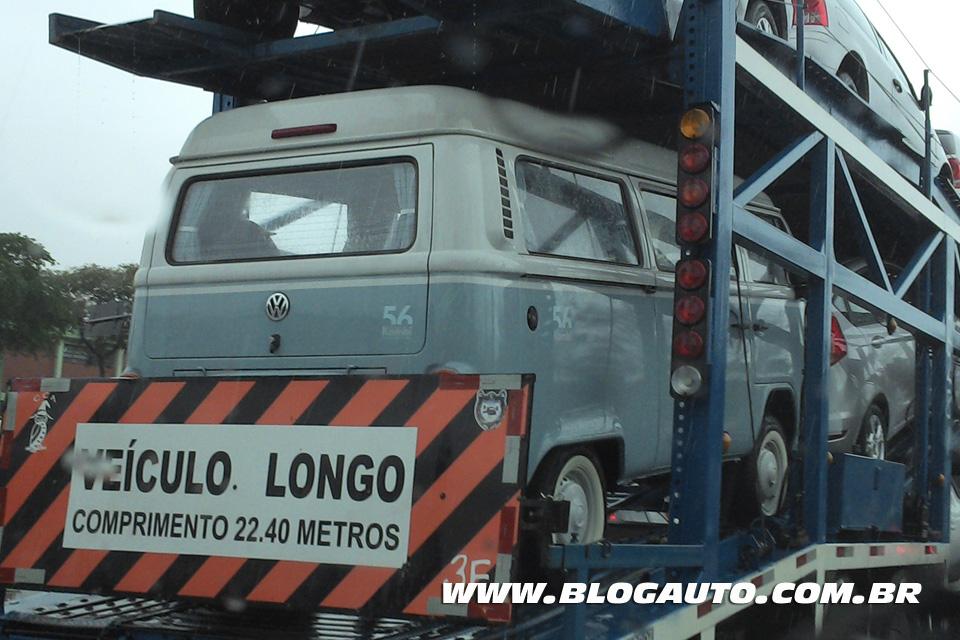 Volkswagen Kombi Last Edition já nas ruas