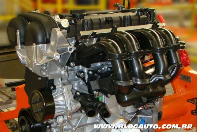 Motor Zetec Rocam