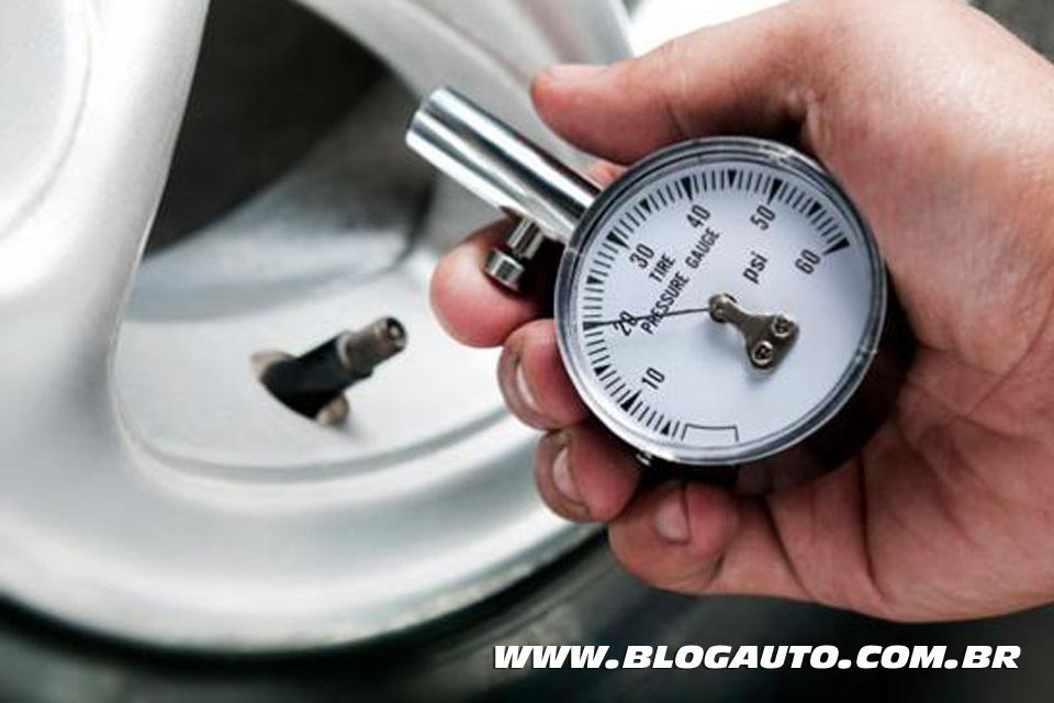 Calibragem de pneu ideal para os principais veículos
