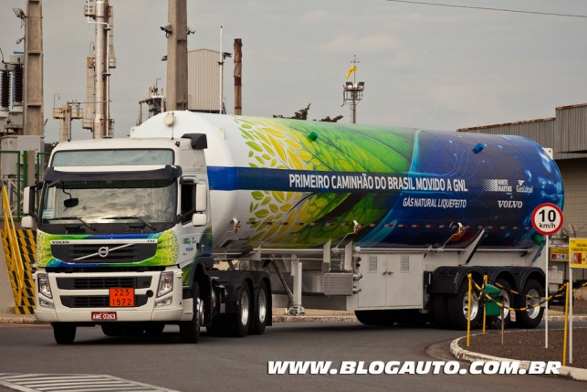Volvo FM 460 GNL 2014