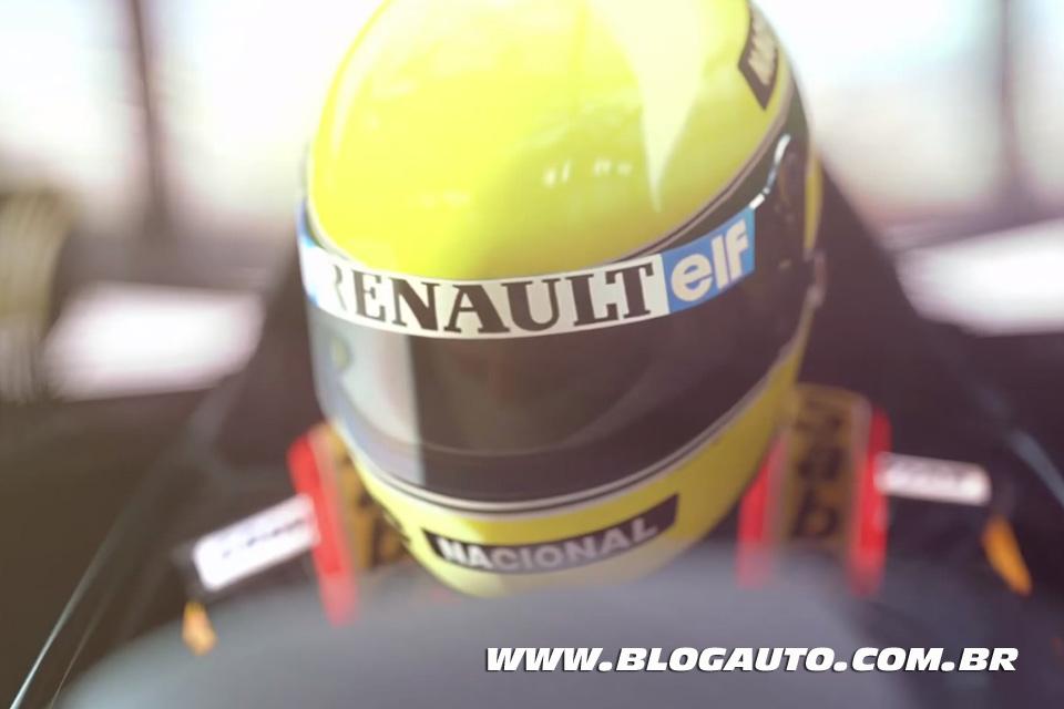 Ayrton Senna na abertura do Gran Turismo 6