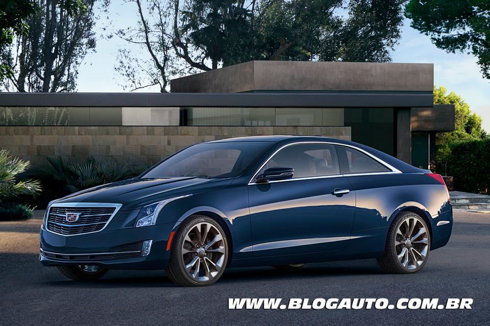 Cadillac ATS Coupé 2015 quer enfrentar o BMW Série 4