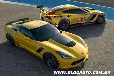 Chevrolet Corvette C7.R 2014 e Chevrolet Corvette Z06 2015