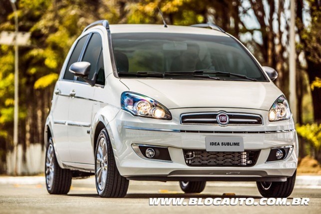 Fiat Idea Sublime 2014