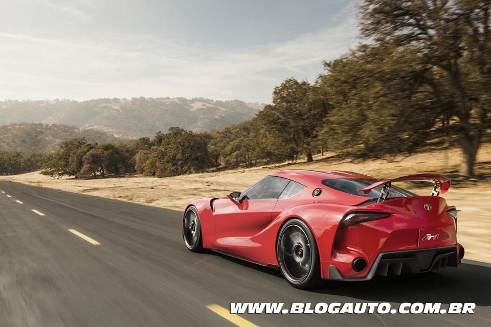 Toyota FT-1 Concept, mas pode me chamar de Novo Supra