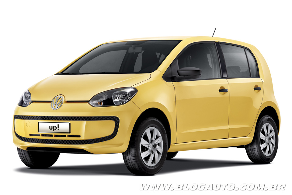 Volkswagen up! 2015 Amarelo Saturno ou Sunflower