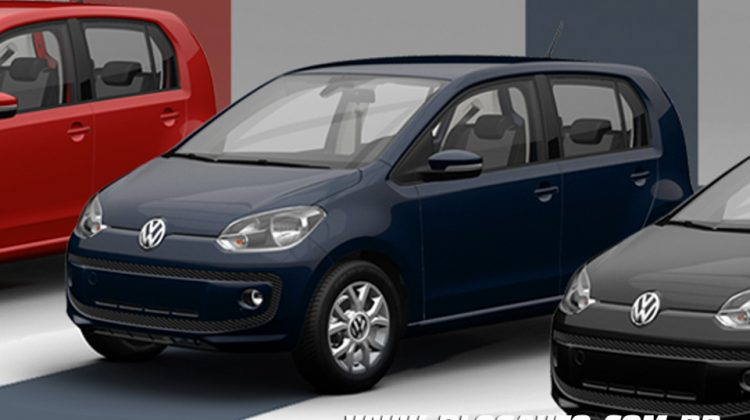 Volkswagen up! 2015 Azul Night ou Night Blue