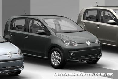Volkswagen up! 2015 Cinza Quartzo