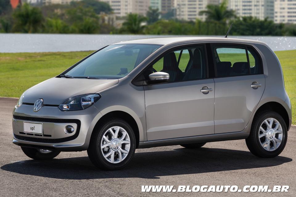 Volkswagen up! 2015 Prata Egito