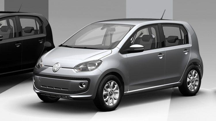 Volkswagen up! 2015 Prata Sírius