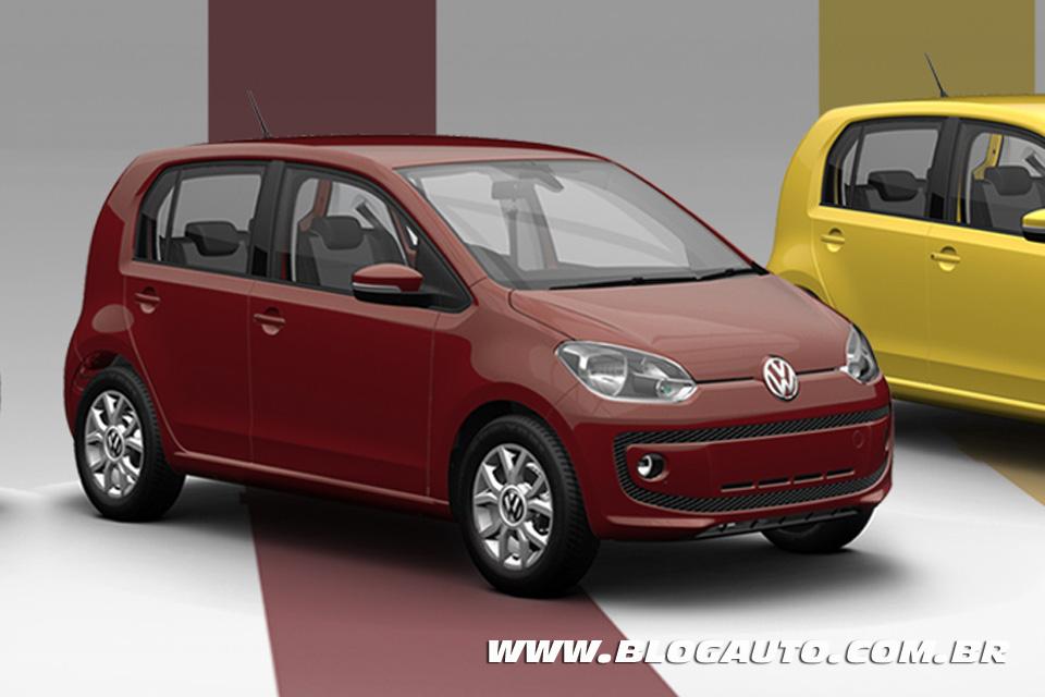 Volkswagen up! 2015 Vermelho Opera ou Opera Red