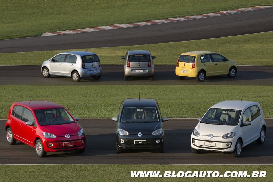 Volkswagen up! 2015 linha completa