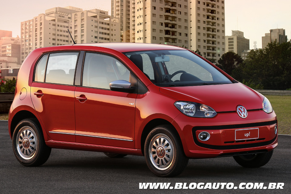 Volkswagen up! 2015 red up!