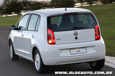 Volkswagen up! 2015 white up!