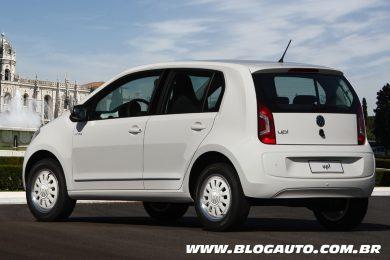 Volkswagen up! 2015 white up!