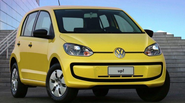O Volkswagen Take up!. versão de entrada