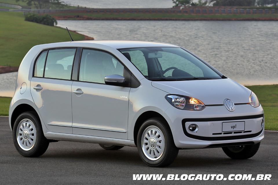 Volkswagen up! tira nota A em consumo do Inmetro