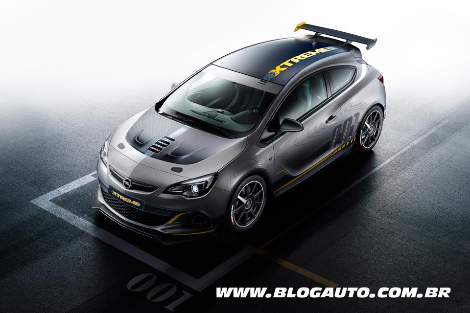 Opel Astra OPC EXTREME: projetado para as ruas e pistas