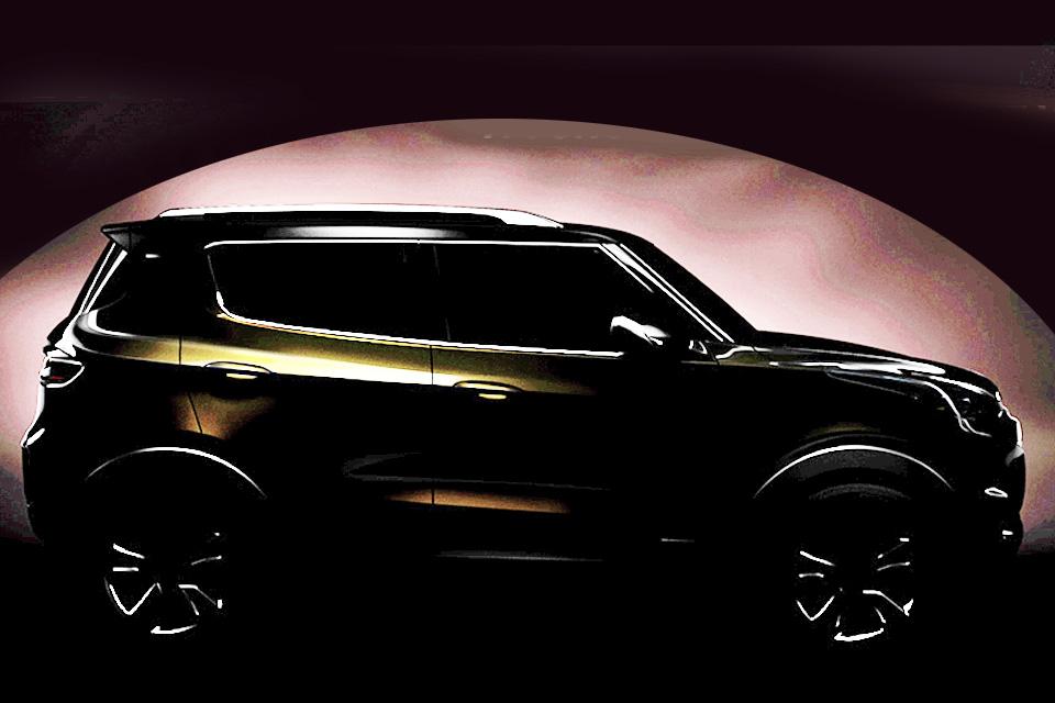 Chevrolet divulga primeira imagem do Adra, o mini-Tracker ...
