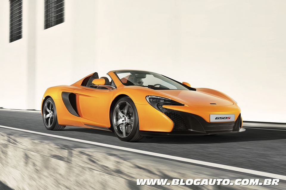 McLaren 650S Spider é atração da marca inglesa em Genebra